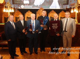 Na svečanoj sidnici Skupštine grada dodiljene nagrade Počasni građanin i Pro Urbe