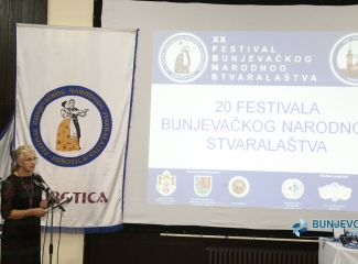 Svečano otvoren XX Festival bunjevačkog narodnog stvaralaštva