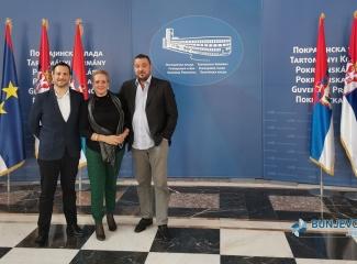 Svečana dodila ugovora za sufinansiranje projekta u kulturi