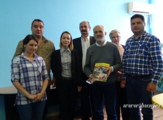 Državni sekretar za informisanje i medije u positi Bunjevačkom informativnom centru i Nacionalnom savitu bunjevačke nacionalne manjine